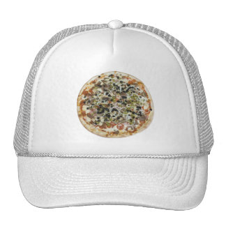 Gorra supremo de la pizza
