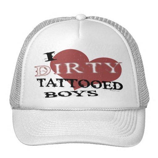 Gorra tatuado sucio de los muchachos 2