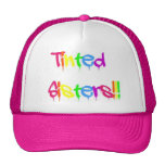 Gorra teñido del camionero de las hermanas