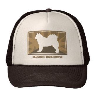 Gorra terroso del Malamute de Alaska