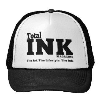 Gorra total del camionero de la revista de la tint