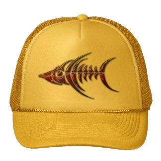 Gorra tribal del camionero de los pescados