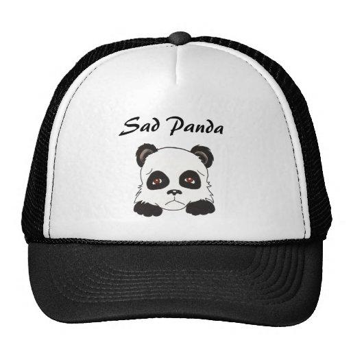 Gorra triste de la panda