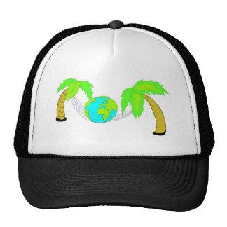 Gorra tropical del humor