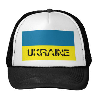 Gorra ucraniano del recuerdo de la bandera de Ucra