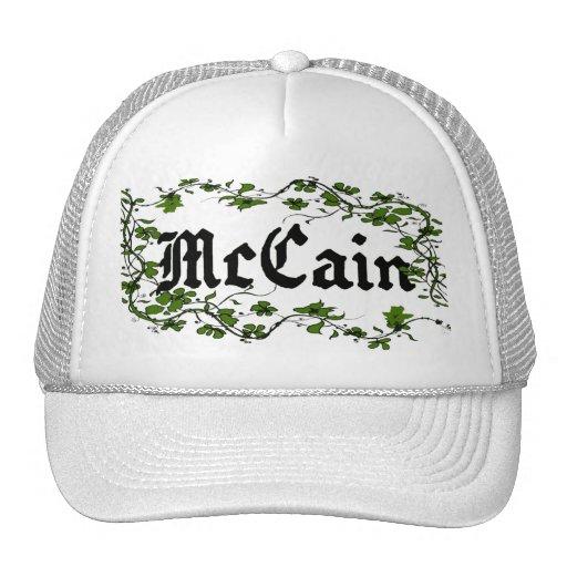 Gorra único de la hiedra del verde de McCain que s