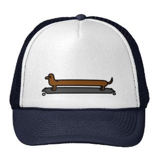 gorra único del casquillo del camionero del perro