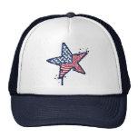Gorra unido del camionero de la estrella