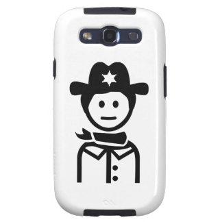 Gorra uniforme del sheriff galaxy s3 cobertura