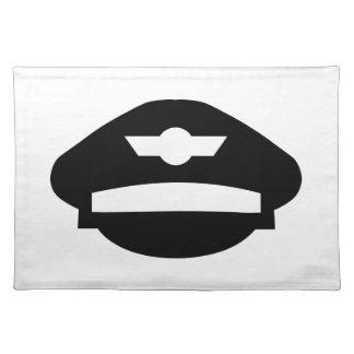 Gorra uniforme experimental manteles