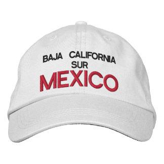 GORRA VARONIL BAJA CALIFORNIA SUR MEXICO EMBROIDERED HATS