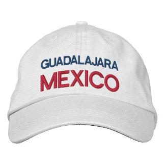 GORRA VARONIL GUADALAJARA MÉXICO GORRA DE BEISBOL BORDADA