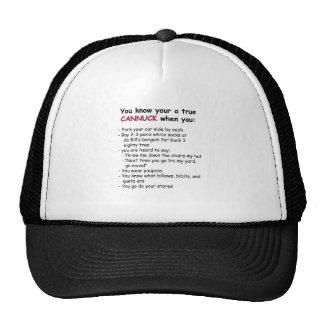 Gorra verdadero de Cannuck