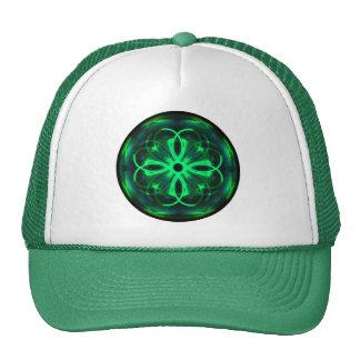 Gorra verde afortunado