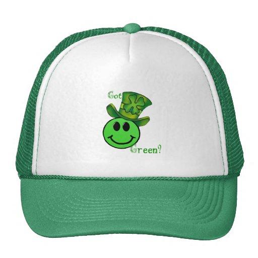Gorra verde conseguido