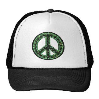 gorra verde de la paz