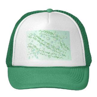 gorra verde de la perla
