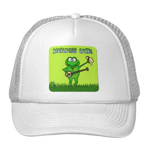 Gorra verde del Bluegrass