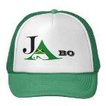 Gorra verde del camionero de Jamaica JA BO