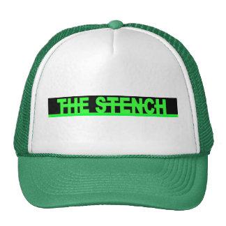 Gorra verde del hedor