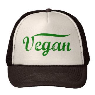 Gorra verde del vegano