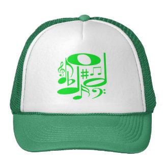Gorra verde musical