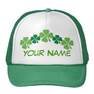 Gorra verde personalizado del día del St Patricks