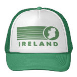 Gorra verde retro del camionero de Irlanda