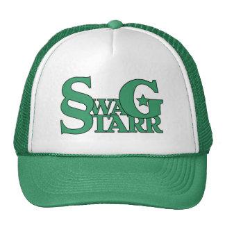 Gorra verde y blanco de Starr del Swag