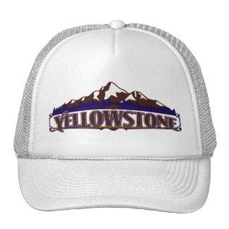 Gorra vibrante de la montaña de Yellowstone