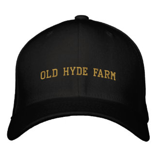 Gorra viejo de la granja de Hyde Gorros Bordados