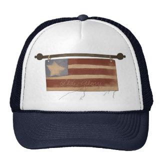 Gorra viejo de la onda de la gloria
