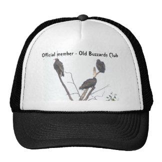 Gorra viejo del club de los halcones