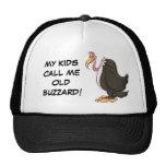 Gorra viejo del halcón