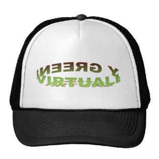 Gorra virtualmente verde