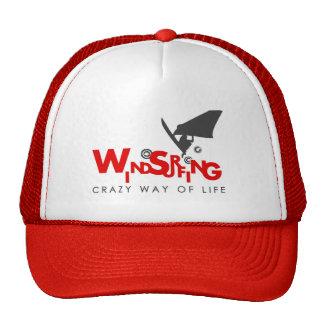 Gorra Windsurfing del rojo y blanco