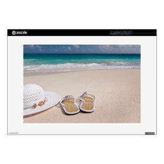 Gorra y balanceos en la playa calcomanía para 38,1cm portátil