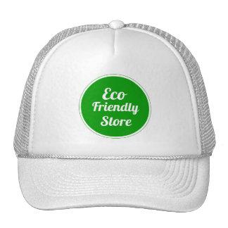 Gorras amistosos de la malla de la tienda de Eco