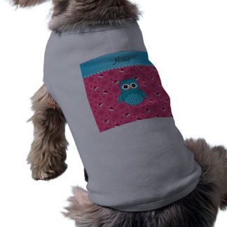 Gorras azules conocidos personalizados de santa camiseta sin mangas para perro