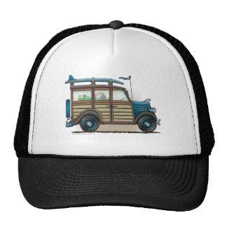 Gorras azules del carro de Woody