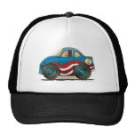Gorras azules del stock car