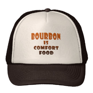 GORRAS - BORBÓN es comida de la comodidad