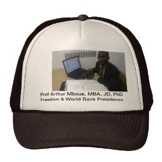 Gorras, campaña de la presidencia del banco gorras