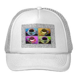 Gorras, casquillos - arte pop de los apegos de Jav