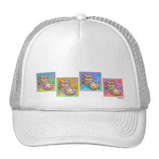 Gorras, casquillos - galletas del arte pop