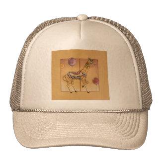 Gorras, casquillos - jirafa del carrusel gorros