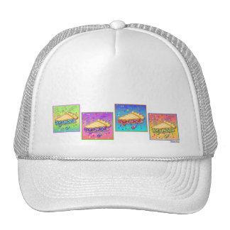 Gorras, casquillos - pedazo de arte pop de la empa
