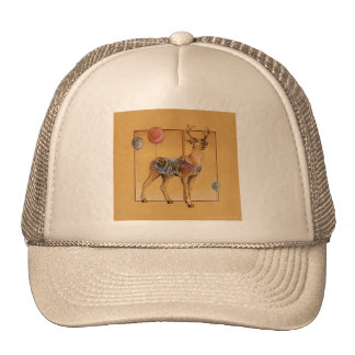 Gorras, casquillos - reno del carrusel o alces gorro