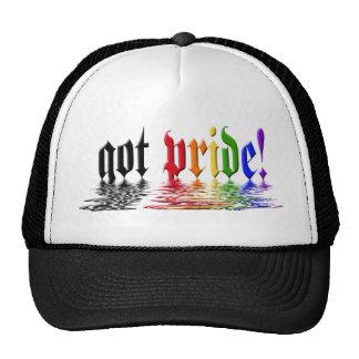 Gorras conseguidos del orgullo