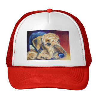 Gorras de Airedale Terrier